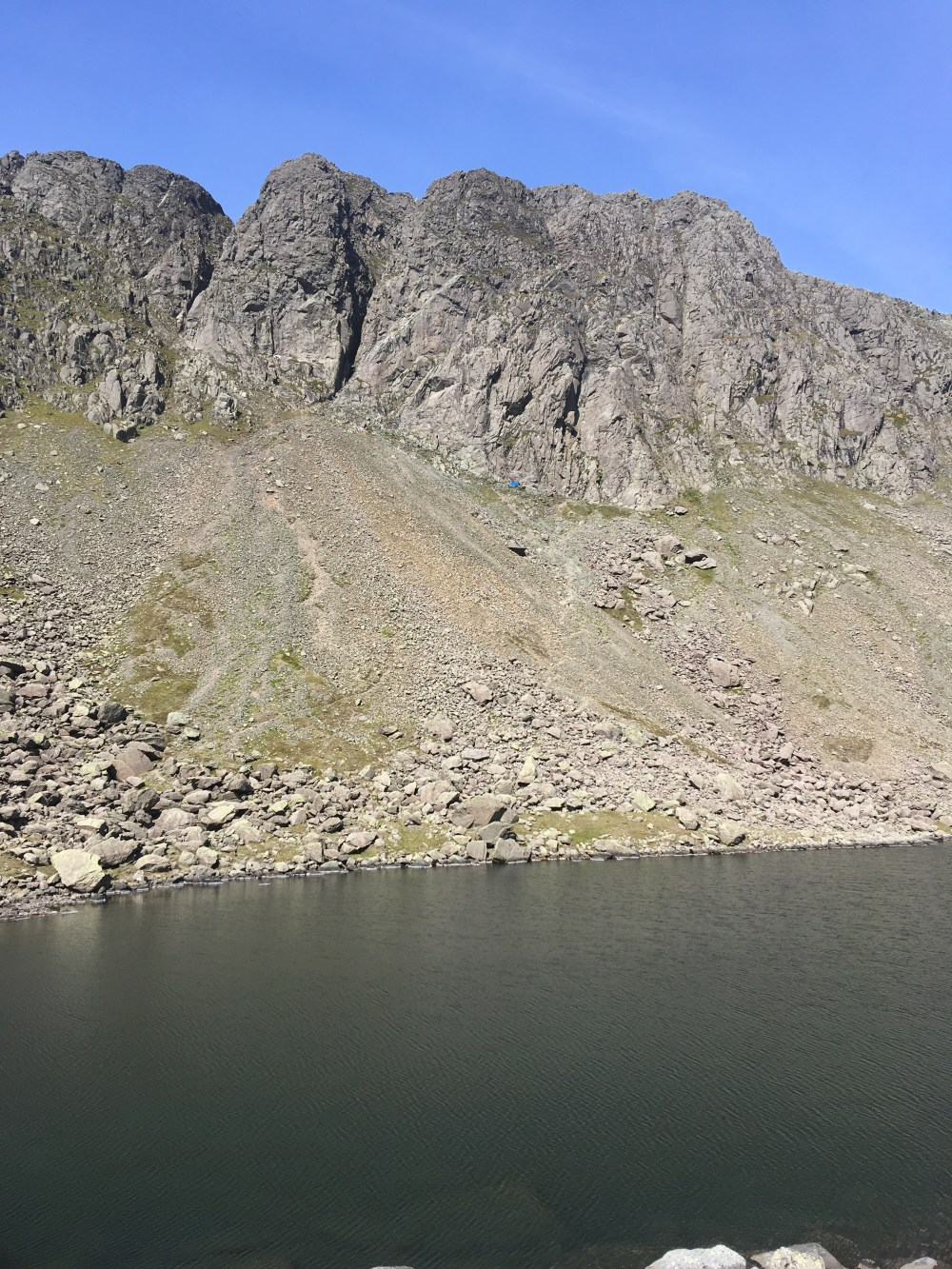 32 Dow Crag from Goat's Water