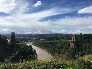 Clifton Suspension Bridge, Bristol (LEJoG walk blog, Day 23)