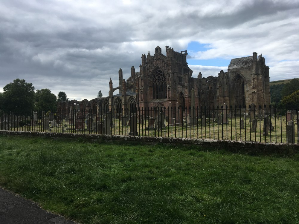 593 Melrose Abbey