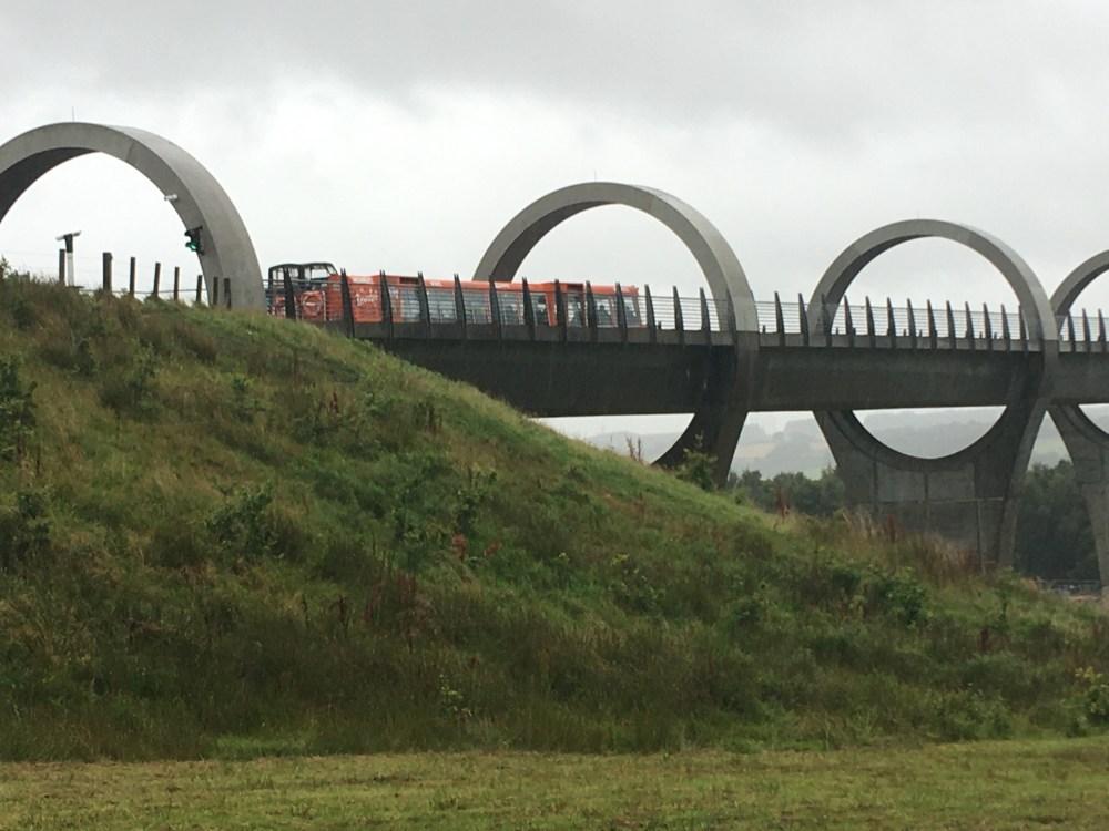 655 Falkirk Wheel boat 1