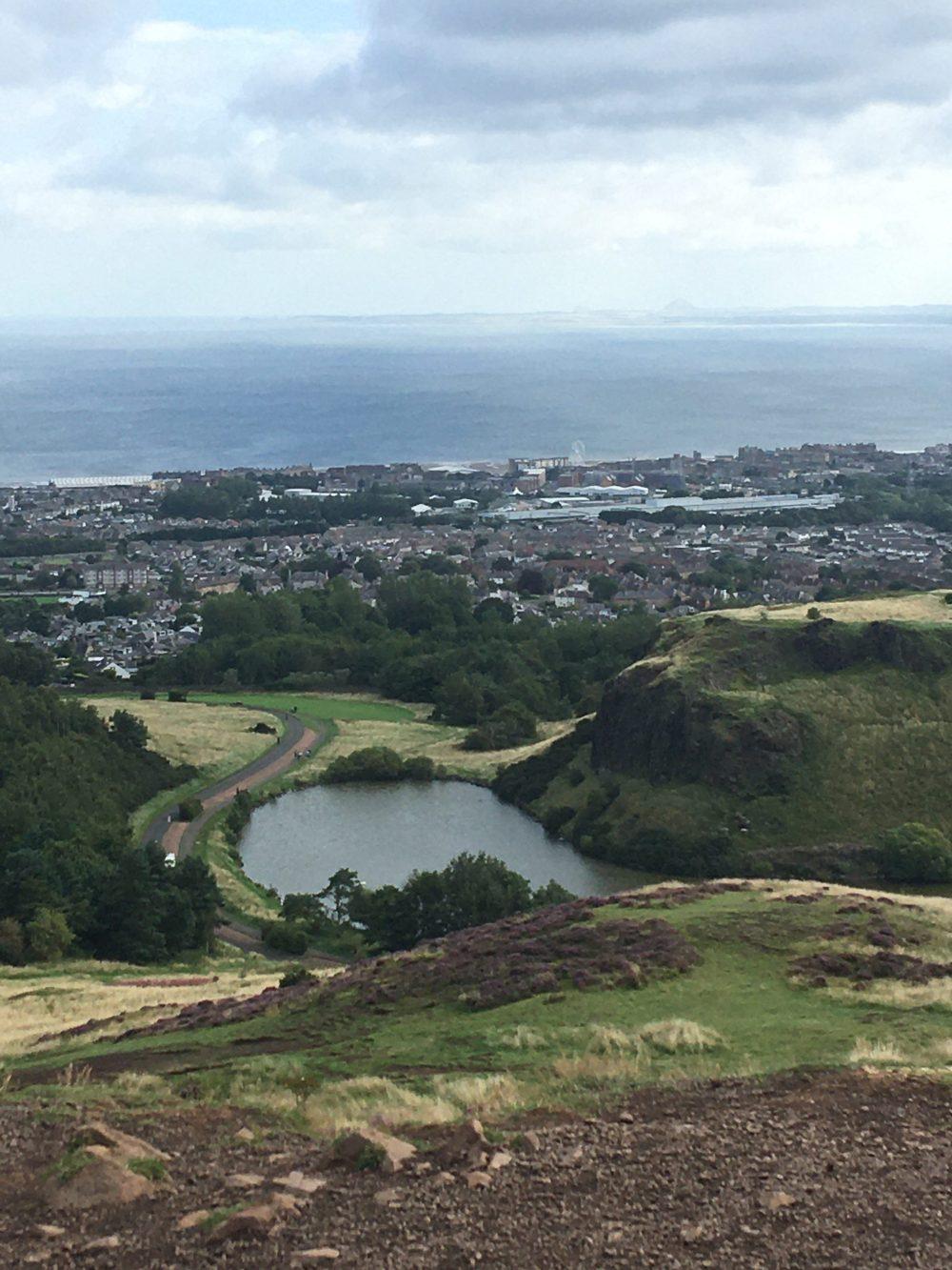 Lake and Edinburgh