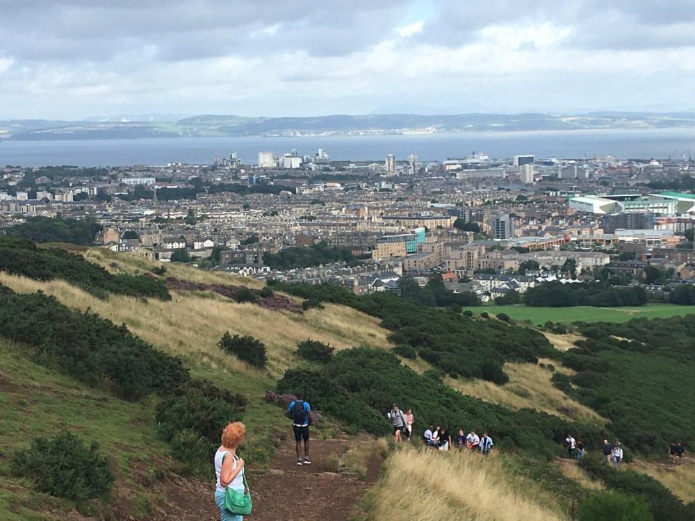 Mum and Edinburgh