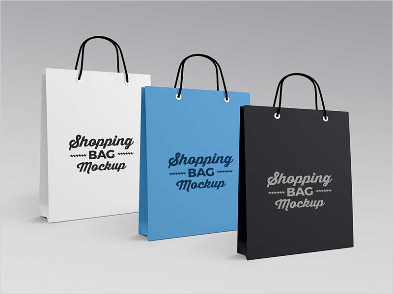 Download 50 Free Best Shopping Paper Bag Mockups For All ...