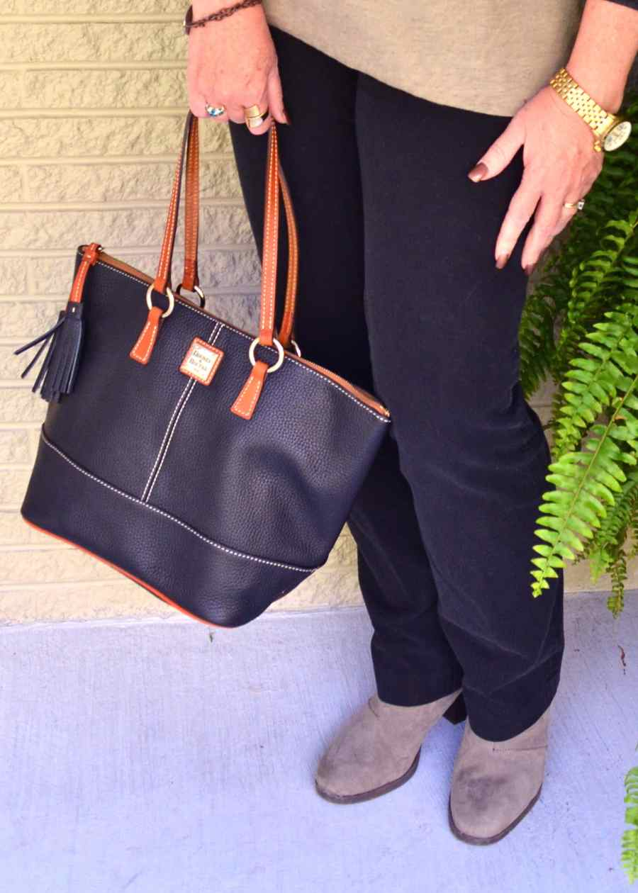 50 Is Not Old | Black & Brown Pt. 2 purse