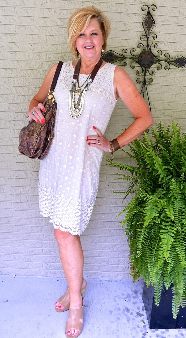 50 Is Not Old | Favorite Summer Outfit | Ageless Link-Up