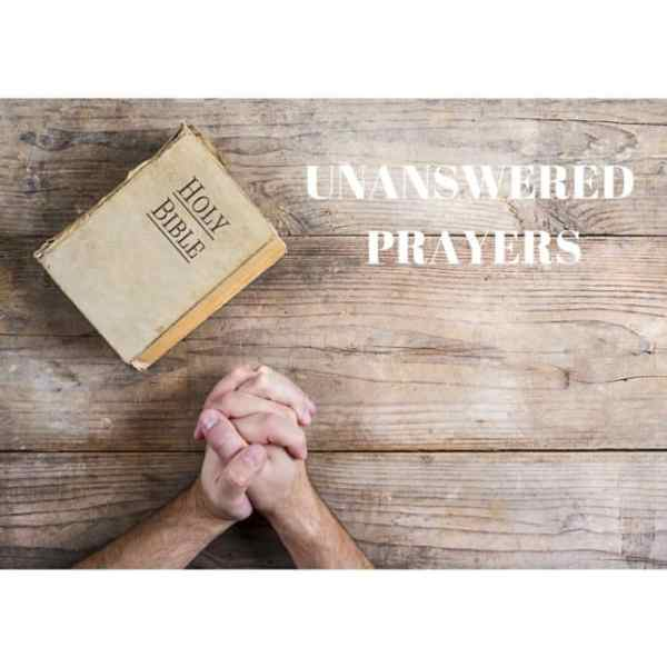 UNANSWERED PRAYERS - 50 IS NOT OLD