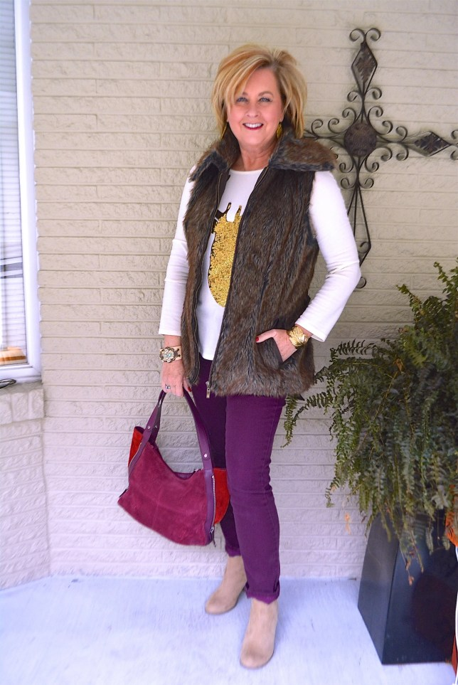 50 IS NOT OLD   HOLIDAY OUTFIT AGELESS STYLE