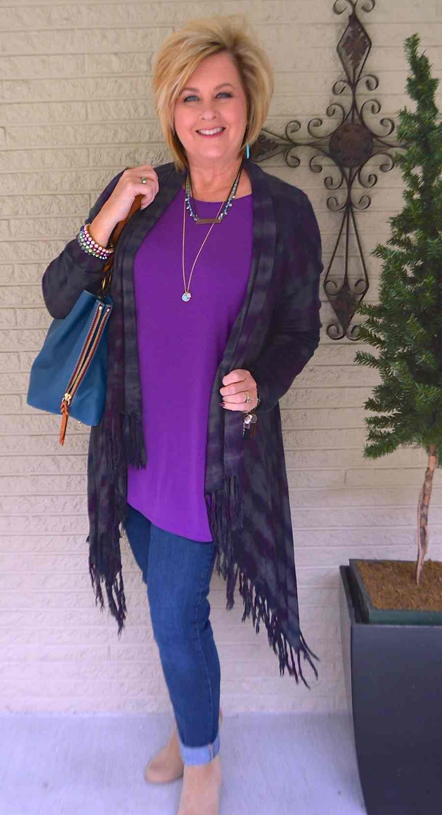 50 IS NOT OLD | PURPLE AND TURQUOISE