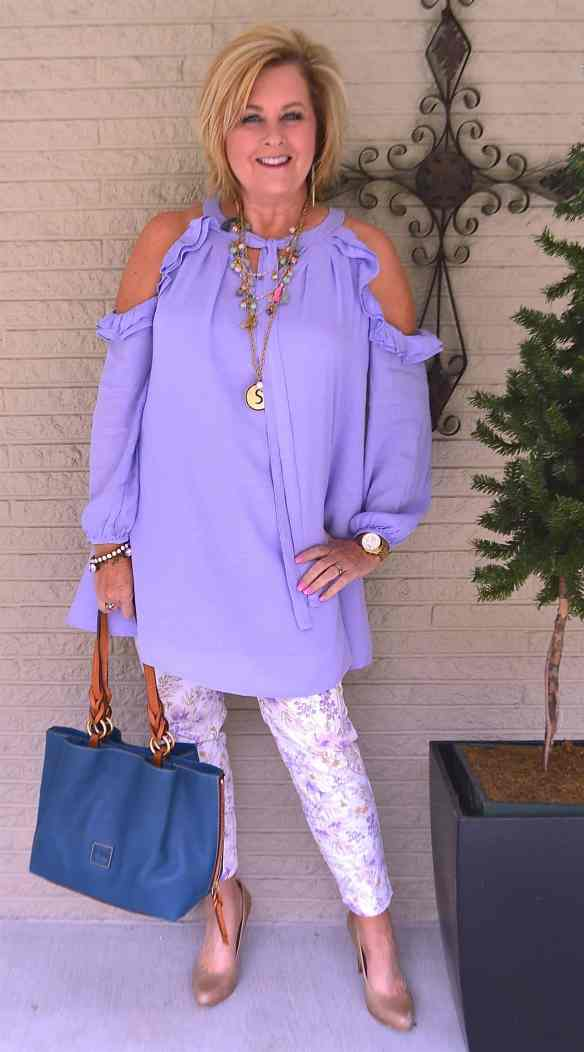 50 IS NOT OLD | FASHION FLASH AND A COLD SHOULDER