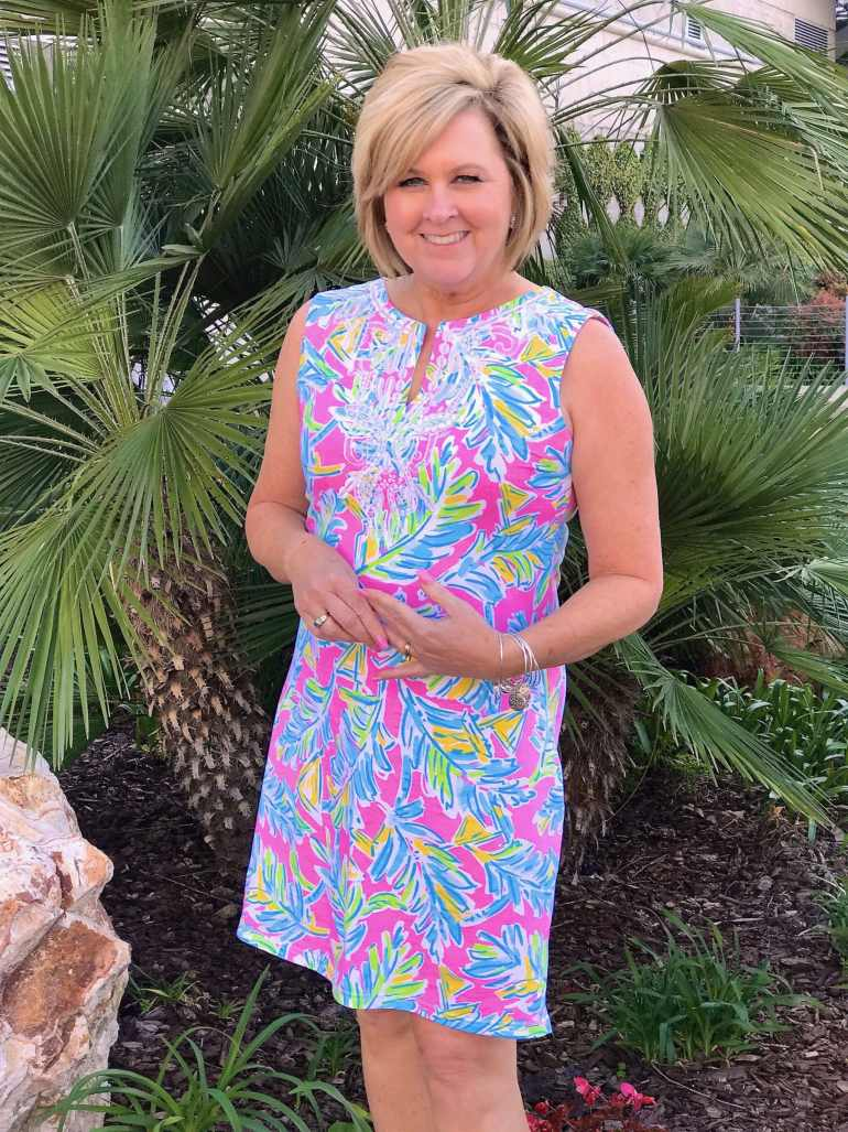 50 IS NOT OLD   COLORFUL DRESS FOR SPRING