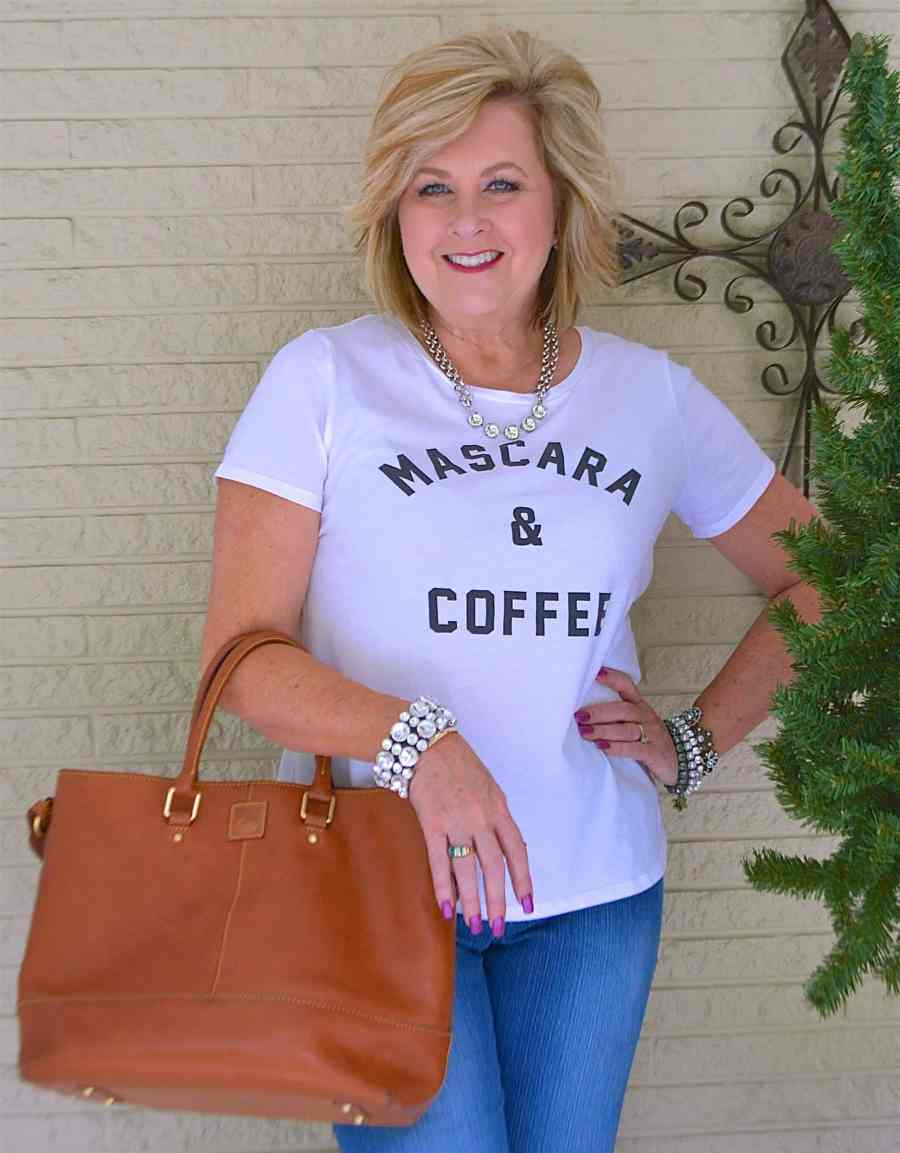 50 IS NOT OLD | ALL YOU NEED IS MASCARA AND COFFEE