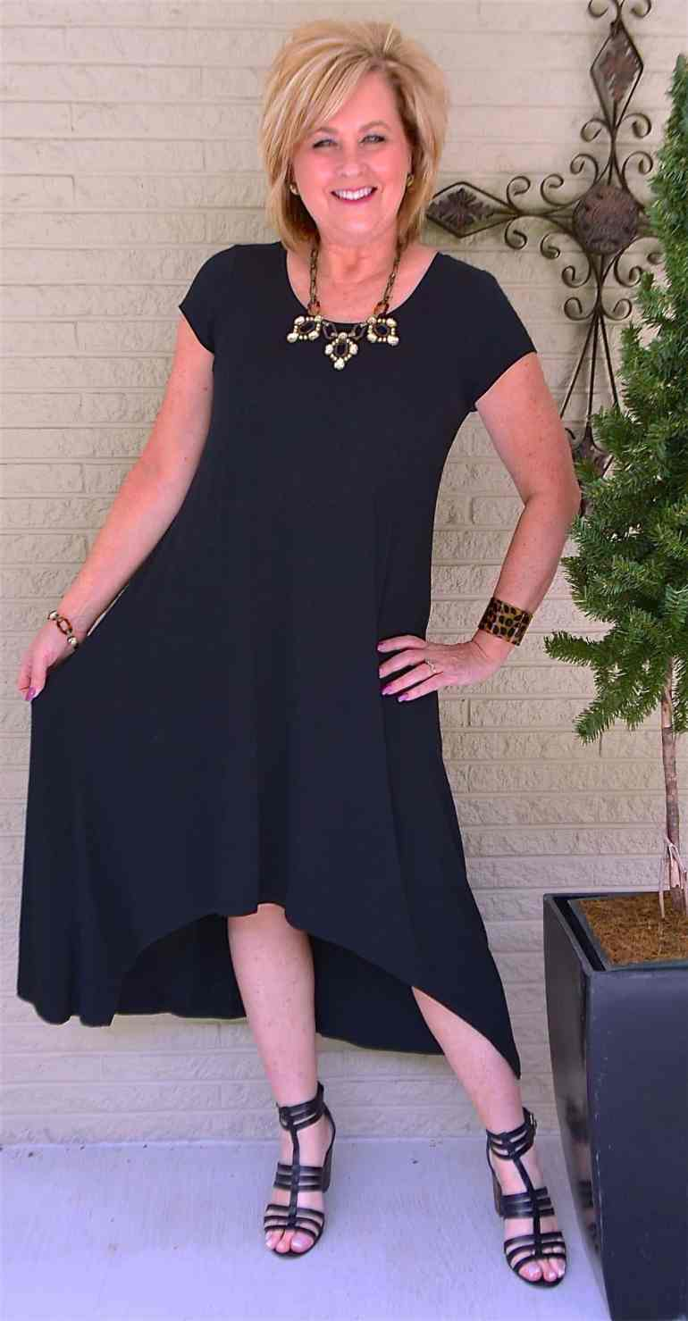 50 IS NOT OLD | DO YOU NEED A BLACK DRESS | FASHION OVER 40