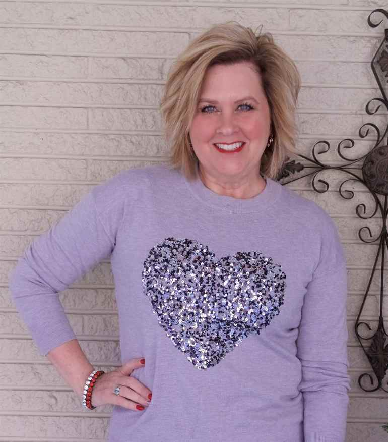 50 IS NOT OLD | WEARING YOUR HEART ON YOUR CHEST