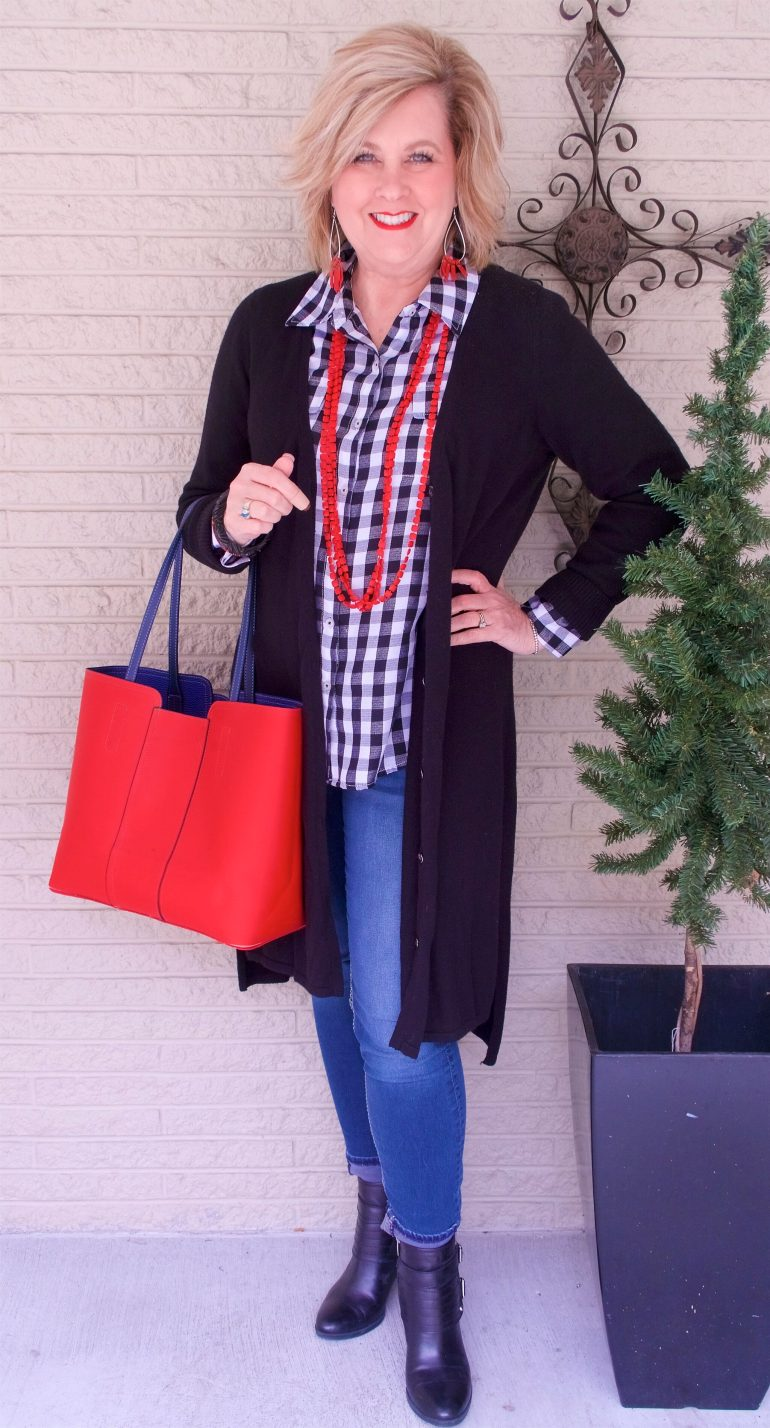 50 IS NOT OLD | CHOOSING RED ACCESSORIES | FASHION OVER 40
