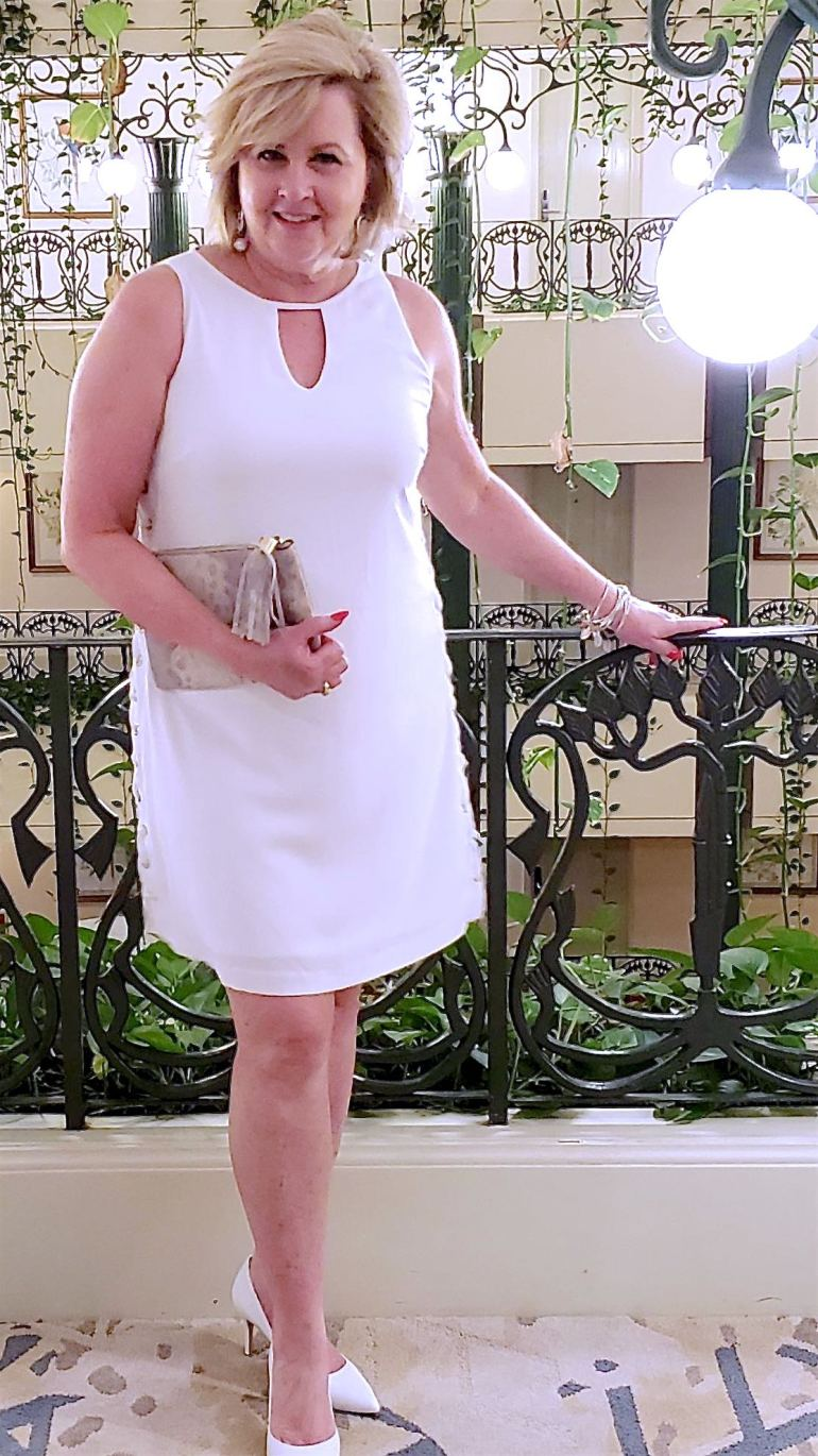 50 IS NOT OLD | DRESS FOR A DINNER DATE | FASHION OVER 40