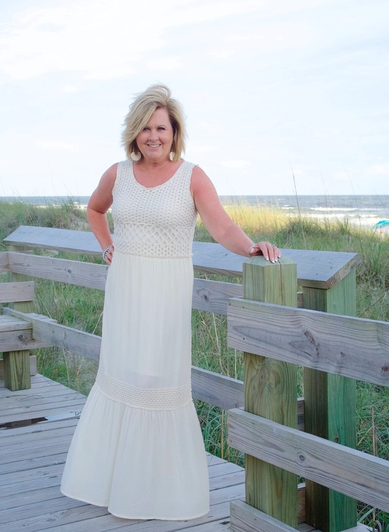 50 IS NOT OLD | ROMANTIC BOHEMIAN MAXI DRESS | FASHION OVER 40