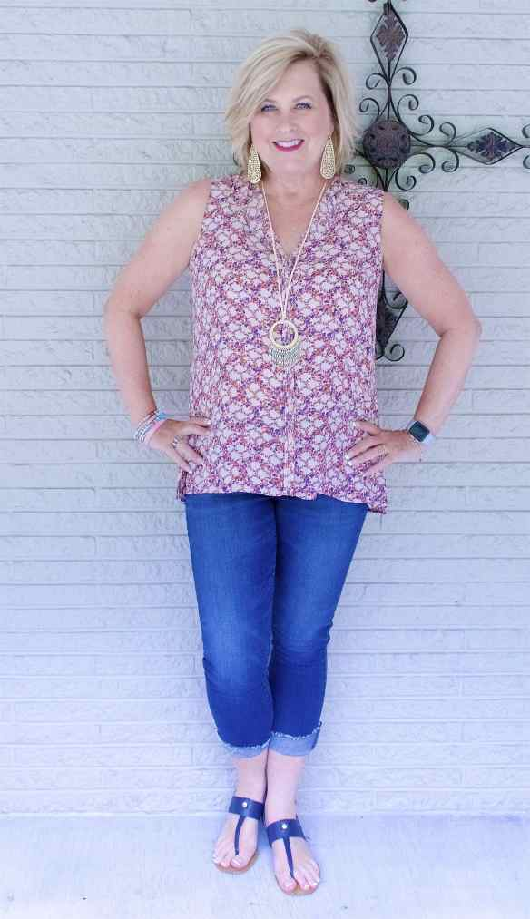 50 IS NOT OLD   SAME BLOUSE BUT A DIFFERENT LOOK PART 2   FASHION OVER 40