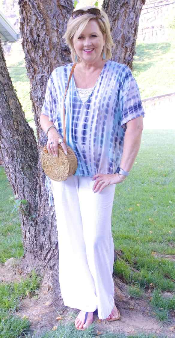 FASHION OVER 40 | COOL AND COMFORTABLE SUMMER OUTFIT | FASHION OVER 40