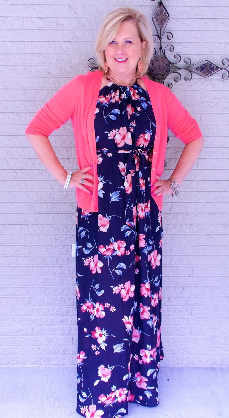 50 IS NOT OLD | IS A MAXI DRESS FOR YOU | FASHION OVER 40