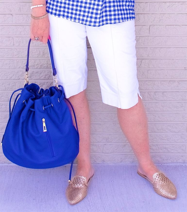 50 IS NOT OLD   WEARING BERMUDA SHORTS   FASHION OVER 40