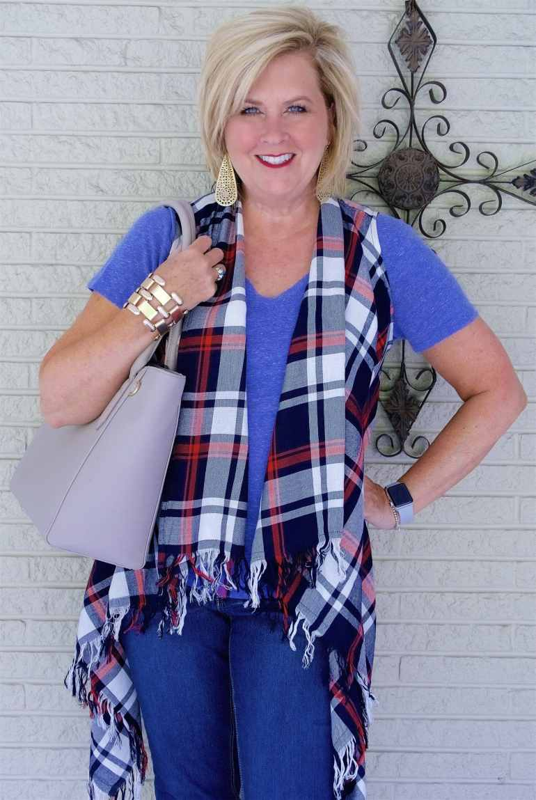 50 IS NOT OLD | HOW TO WEAR PLAID BUT NOT LOOK LIKE A LUMBERJACK | FASHION OVER 40