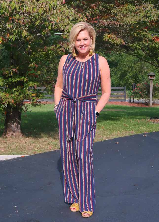 50 IS NOT OLD | ARE STRIPES FLATTERING | FASHION OVER 40