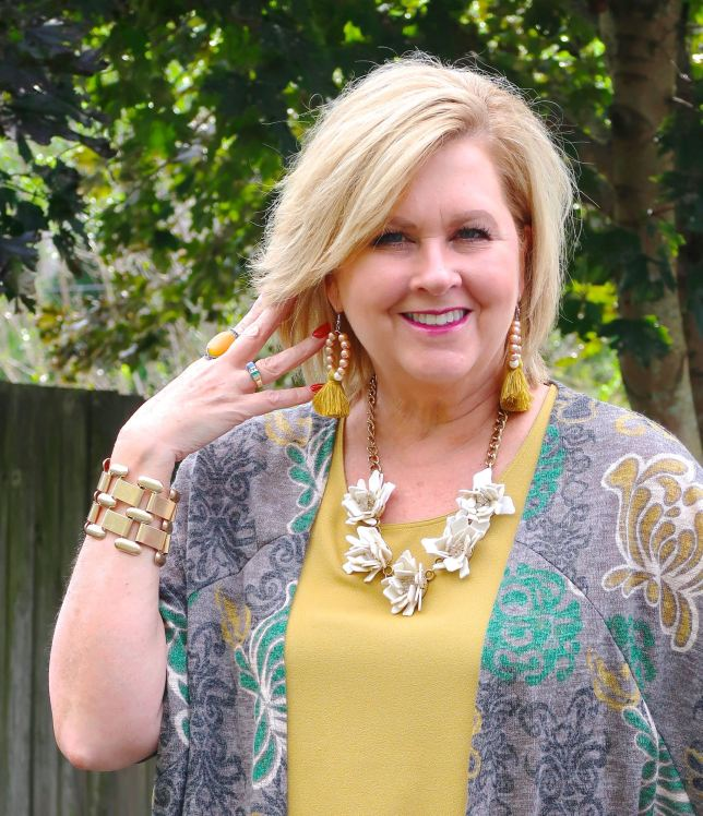 50 IS NOT OLD   HOW TO WEAR A CARDIGAN   FASHION OVER 40