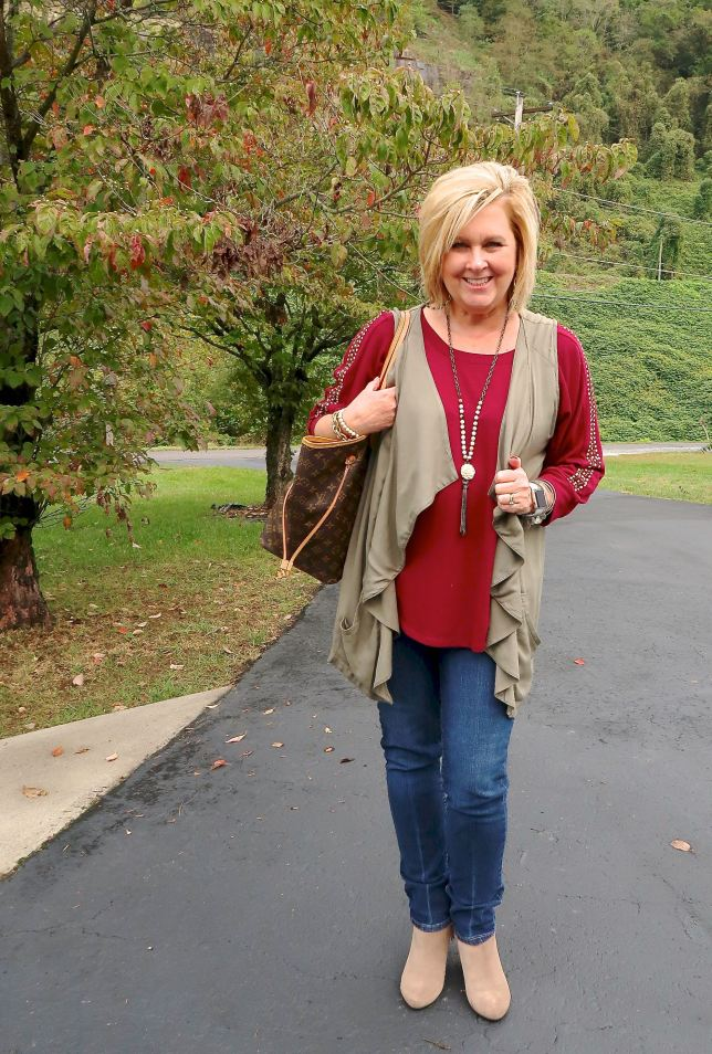50 IS NOT OLD   ANKLE BOOTS AND JEANS   FASHION OVER 40