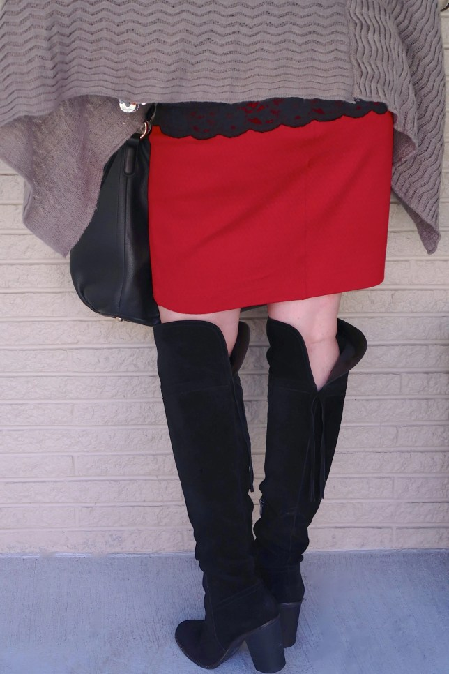 50 IS NOT OLD   A PENCIL SKIRT AND OVER THE KNEE BOOTS   FASHION OVER 40