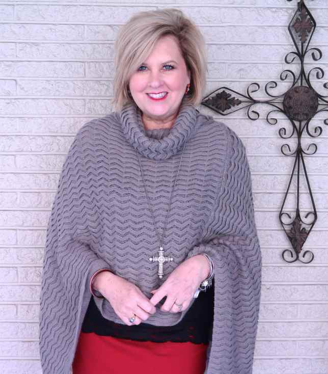 50 IS NOT OLD | A PENCIL SKIRT AND OVER THE KNEE BOOTS | FASHION OVER 40