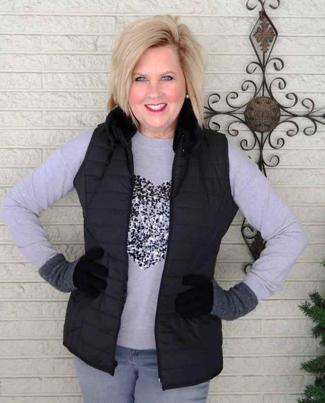 50 IS NOT OLD | MONOCHROMATIC LOOK FOR THE HOLIDAYS | FASHION OVER 40