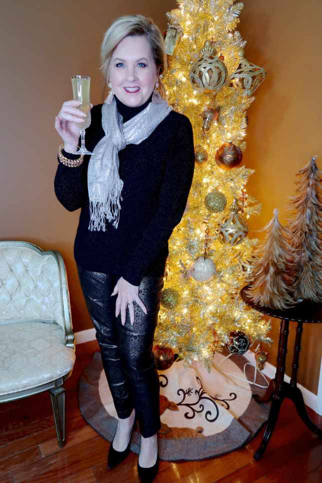 50 IS NOT OLD | NEW YEAR'S EVE STYLE | FASHION OVER 40