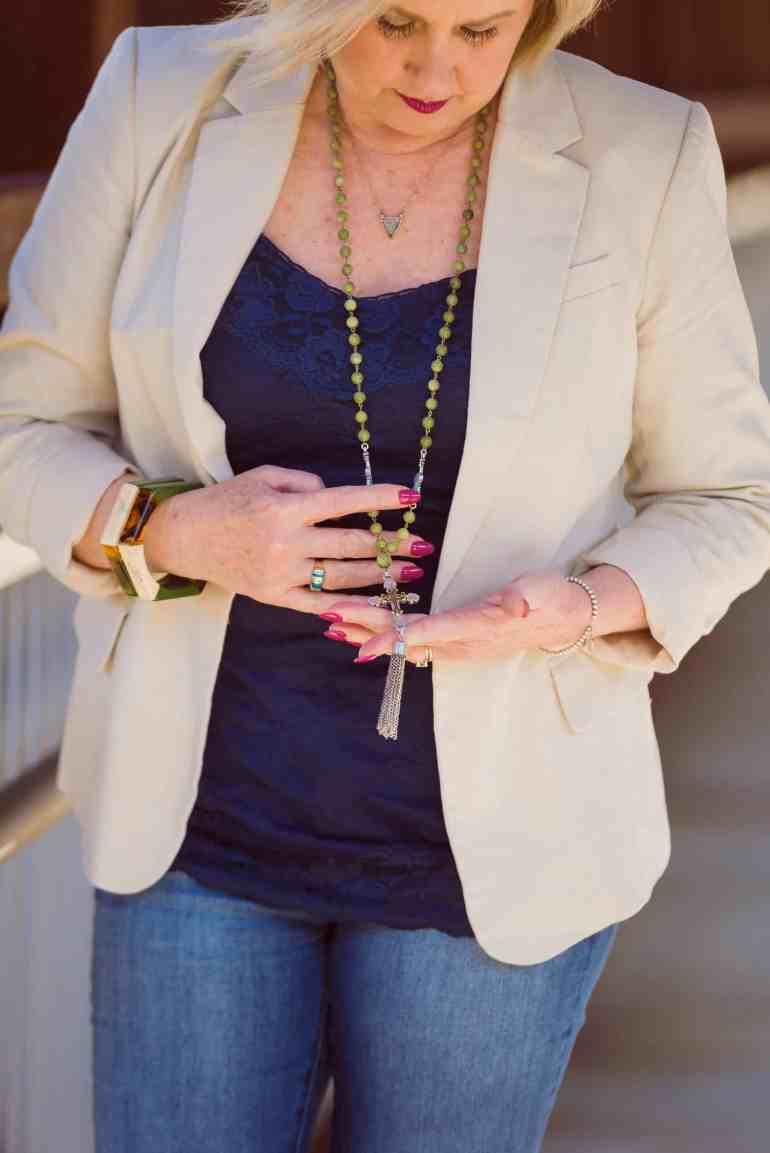 50 IS NOT OLD | SOMETIMES A SIMPLE OUTFIT IS THE BEST | FASHION OVER 40