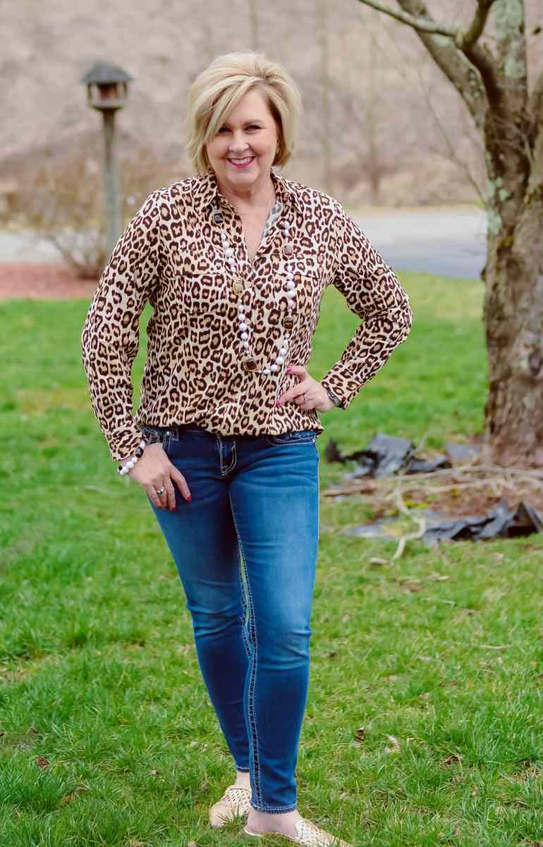 50 IS NOT OLD | I AM FEELING A LITTLE CATTY | FASHION OVER 40