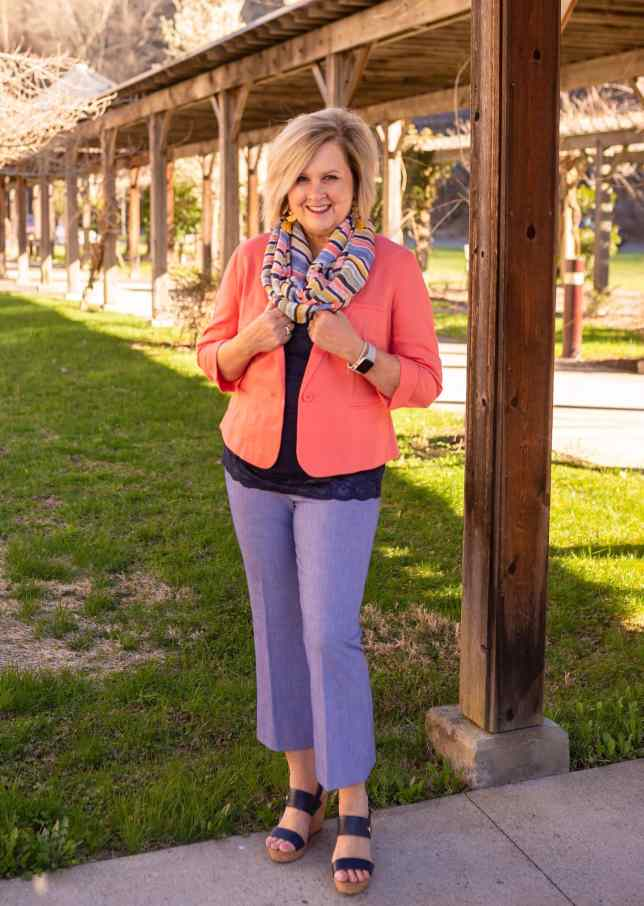 50 IS NOT OLD   THE RIGHT SHOE FOR CROP PANTS   FASHION OVER 40