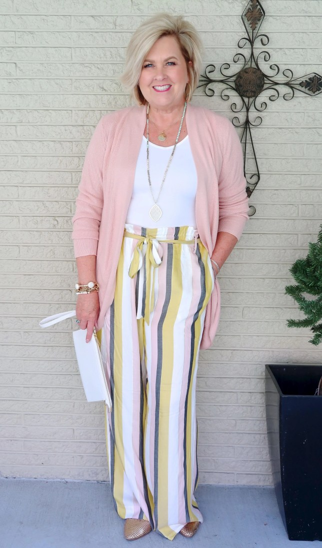 50 IS NOT OLD | CAN YOU WEAR THE PAPERBAG WAIST TREND | FASHION OVER 40