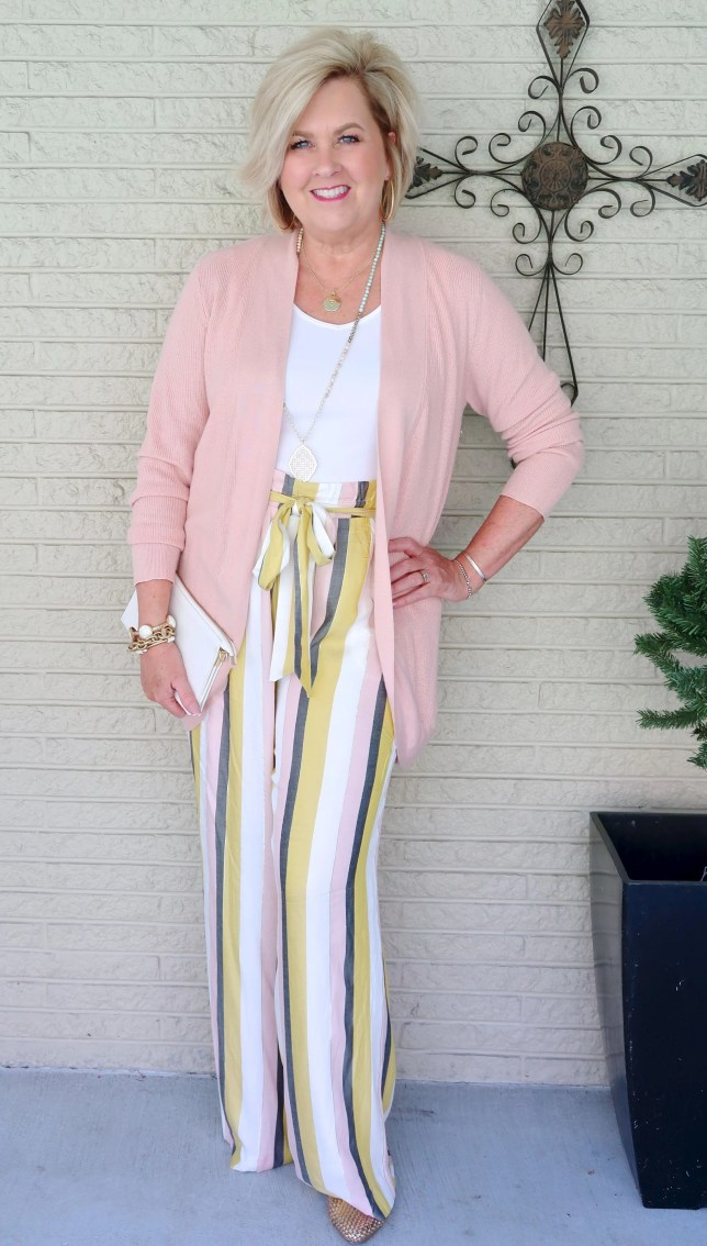 50 IS NOT OLD   CAN YOU WEAR THE PAPERBAG WAIST TREND   FASHION OVER 40