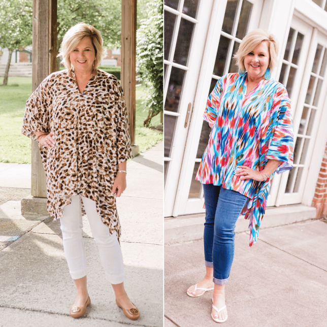 50 IS NOT OLD | BEAUTIFUL LIGHTWEIGHT PONCHOS | FASHION OVER 40
