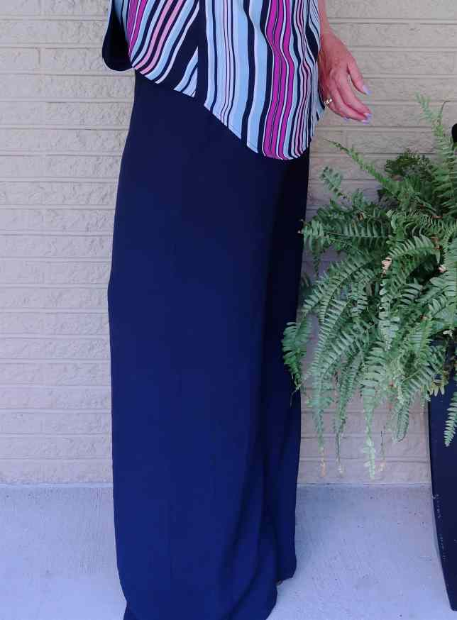 50 IS NOT OLD | HOW TO STYLE WIDE LEG PANTS | FASHION OVER 40