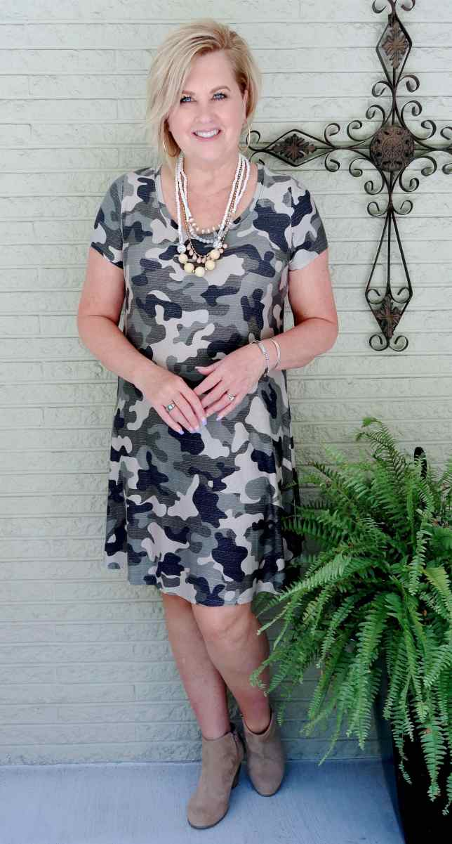 50 IS NOT OLD | THE RIGHT WAY TO WEAR CAMOUFLAGE FOR FALL | FASHION OVER 40