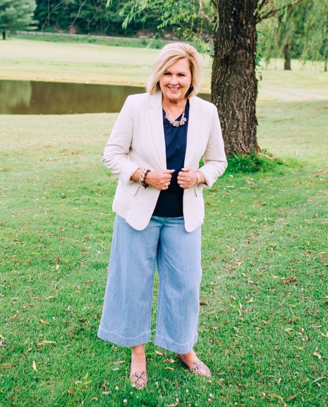 50 IS NOT OLD | PANTS THAT LOOK CASUAL AND CHIC | FASHION OVER 40