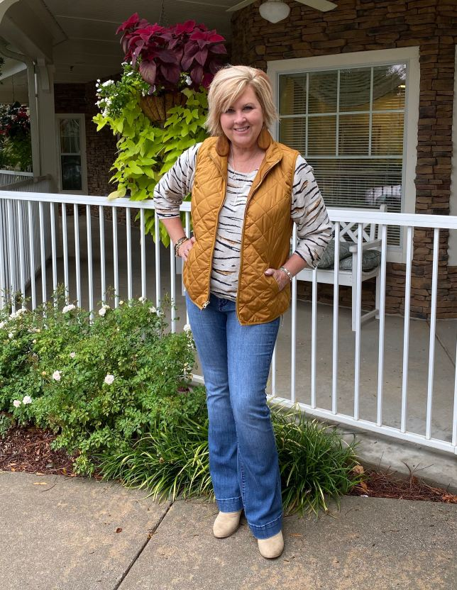 50 IS NOT OLD | TIGER STRIPES FOR A ROARING FALL LOOK | FASHION OVER 40
