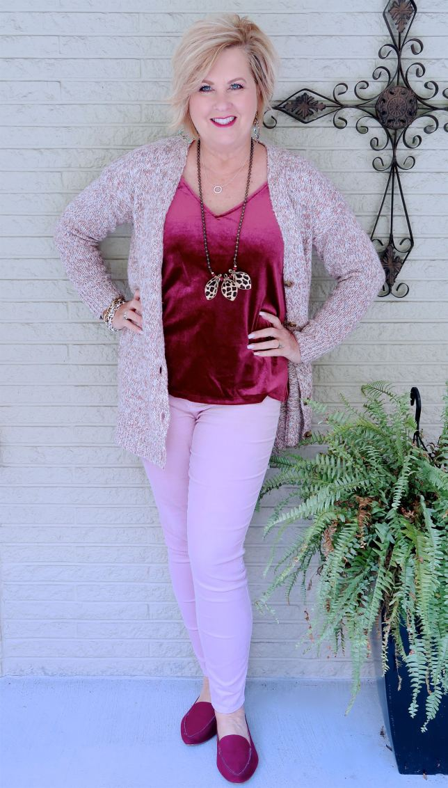 50 IS NOT OLD   PINK FOR BREAST CANCER AWARENESS   FASHION OVER 40