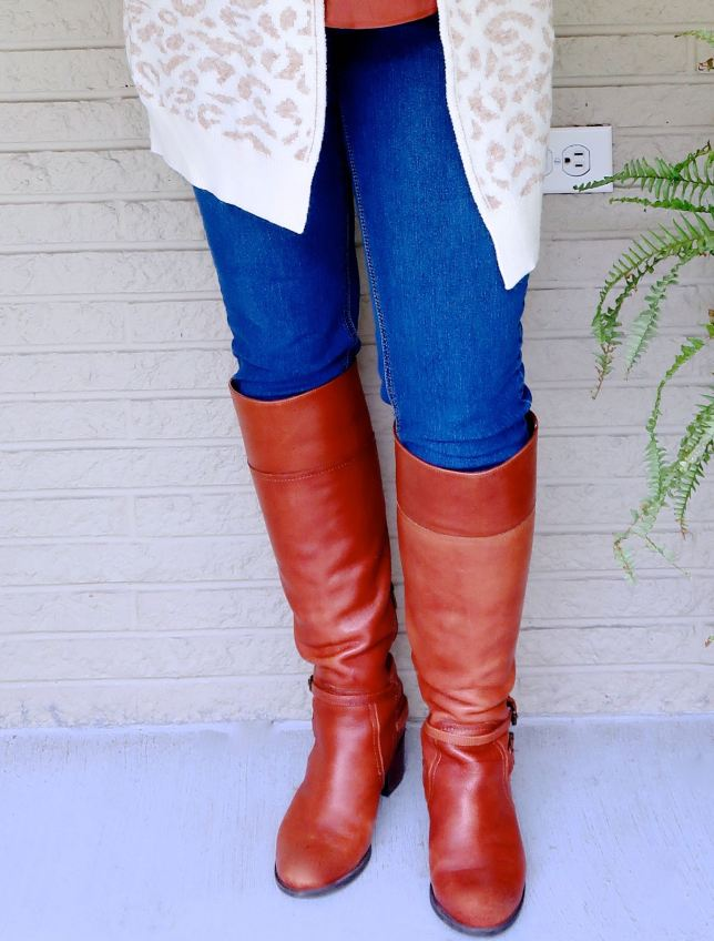 BOOTS THAT LOOK GREAT WITH JEANS, PANTS, OR DRESSES
