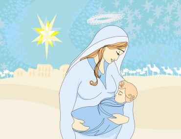 Mary and child Jesus