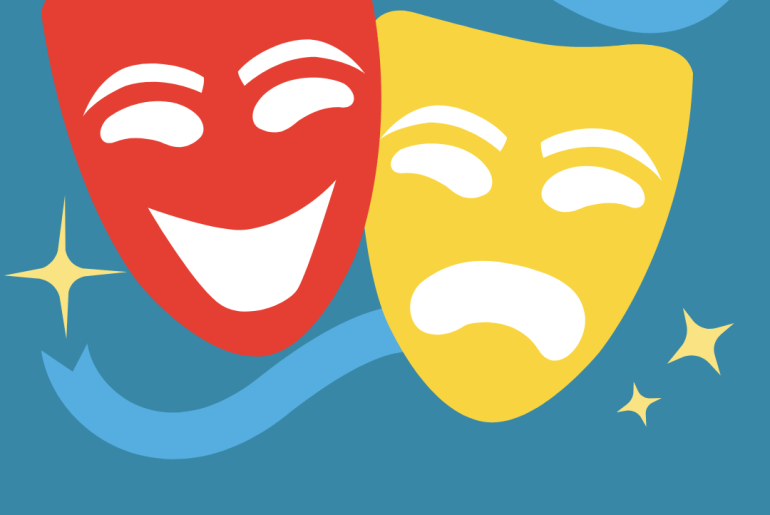 two masks because people are not always as they appear