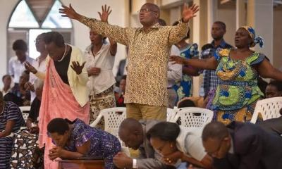 Worshipers crying unto the Lord governor relaxes lockdown, asks churches to resume activities, promise market women easy path - images 2020 04 26T002617 - Governor Relaxes Lockdown, Asks Churches To Resume Activities, Promise Market Women Easy Path