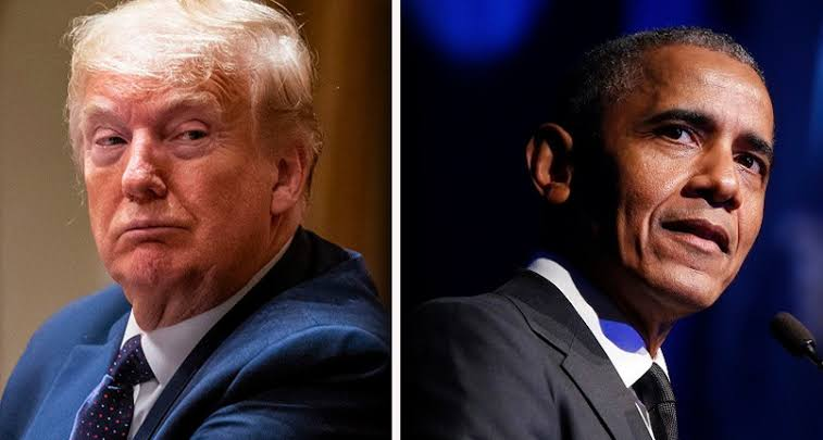 Trump obama Trump not willing to unveil Obama Hussein's portrait in the White House - images 23 2 - Trump not willing to unveil Obama Hussein's portrait in the White House