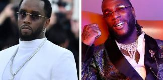 P.Diddy Emotional Message to Africa Over Burna Boy Twice As Tall Album
