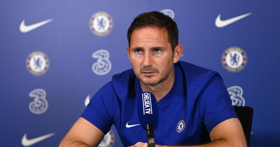 Frank Lampard frank lampard Frank Lampard Declares Love For Ivanovic Ahead of Premier League Clash 0 Frank Lampard press conference